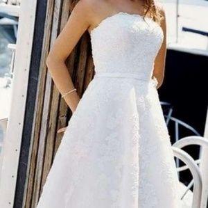 NWOT David's Bridal Galina Dress
